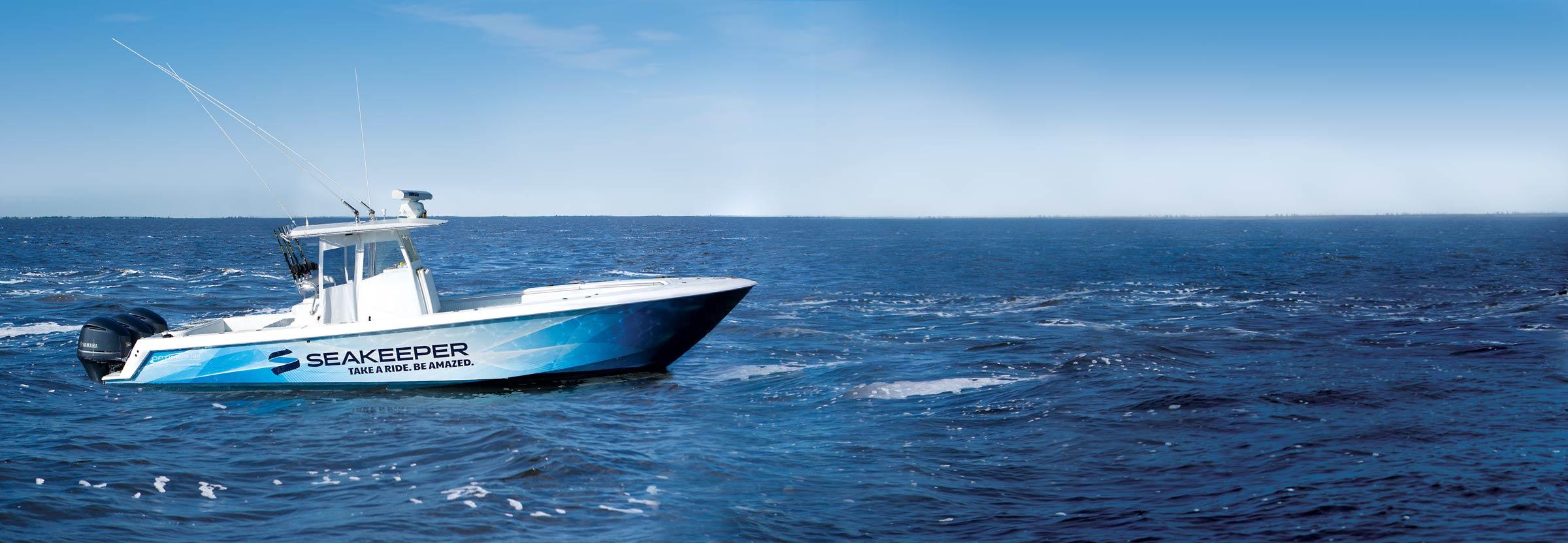 Seakeeper Demo Boat